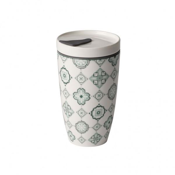 Coffee To Go Becher aus Premium Porcelain - GRÜN