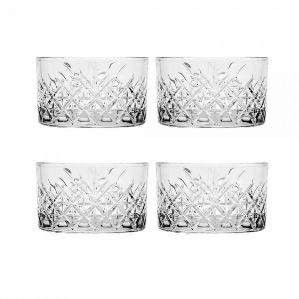 NEU: Schalen im Kristall-Design 4er Set