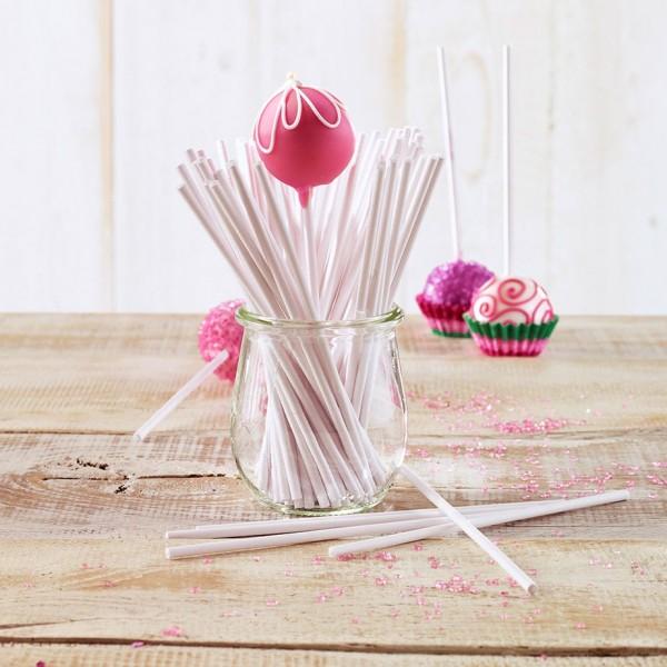 Lolli-Sticks für Cake Pops - 100 Stück