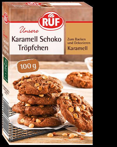 Karamell Schoko Tröpfchen