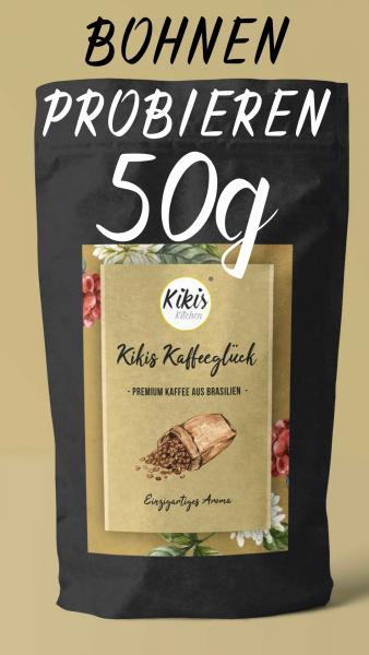 PROBEPÄCKCHEN: Kikis Kaffeeglück - Premium Kaffeebohnen 50g