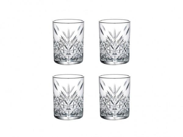 Shotgläser Timeless Kristall-Design 4 x 60ml