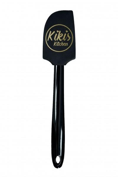 Kikis Teigschaber - schwarz groß