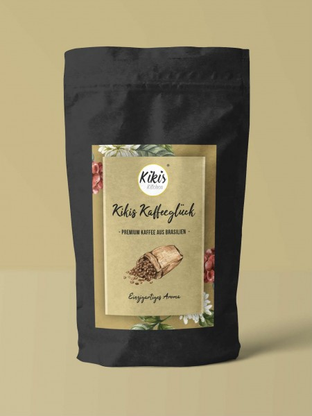 Kikis Kaffeeglück - Premium Kaffeebohnen 250g