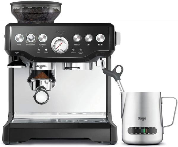 Sage Barista Express Kaffeemaschine - Siebträger glänzend Schwarz