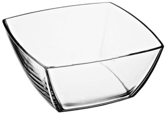 Glasschale quadratisch groß