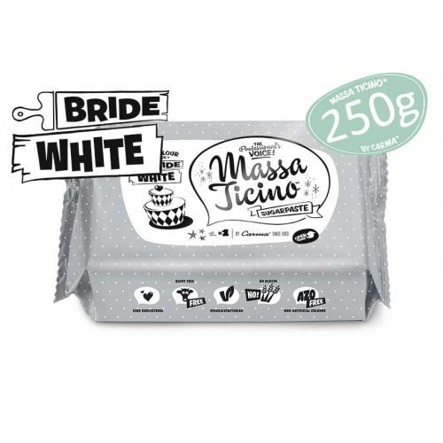 Massa Ticino Tropoic - Rollfondant Bride White - 250g