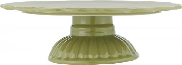 Tortenplatte - Pistaziengrün