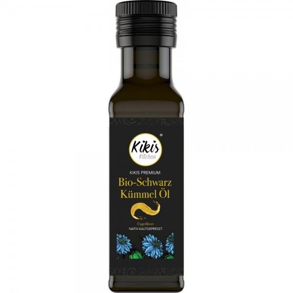 NEU: Kikis Premium Schwarzkümmelöl 100ml ungefiltert BIO