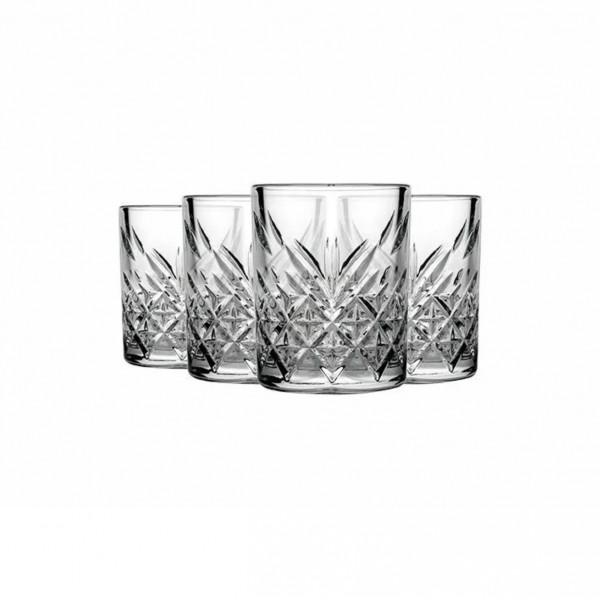 Trinkgläser Kristall-Design 4 x 345ml kurz