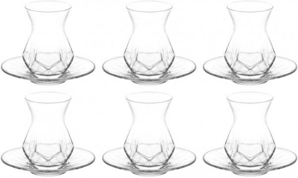 NEU: Cay Teegläser 12er Set - Geometrisch