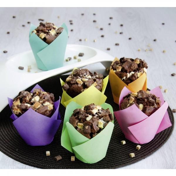 Cupcake/Muffinform Tulpe – 12 Stück