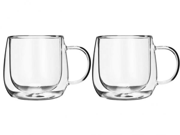 Kikis Doppelwandige Gläser Mit Henkel - 2er Set - Charme