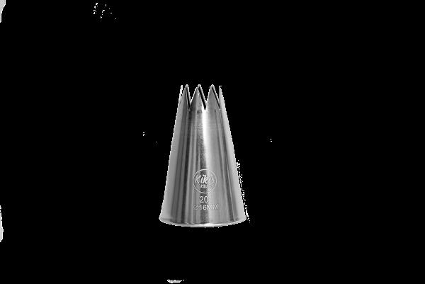 Kikis Stern-Tülle Ø 16mm - Nr: 201