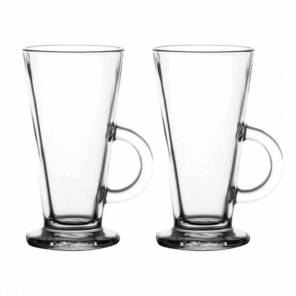 Latte Macchiato Gläser mit Henkel 2 x 360ml